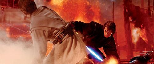Obi-Wan vs. Anakin