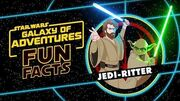 STAR WARS – GALAXY OF ADVENTURES FUN FACTS Jedi-Ritter Star Wars Kids
