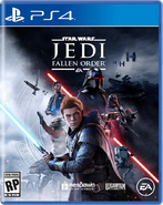 Star Wars Jedi Fallen Order PS4 Cover
