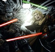 Cade vs. Darth Krayt