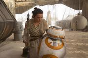 Rey und BB-8 zusammen