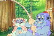 Kneesaa fischt mit Deej