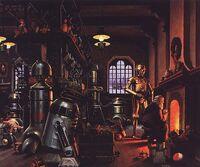 Santa Claus' Werkstatt