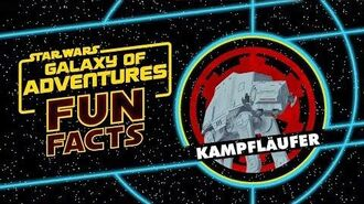 STAR WARS – GALAXY OF ADVENTURES FUN FACTS Kampfläufer Star Wars Kids