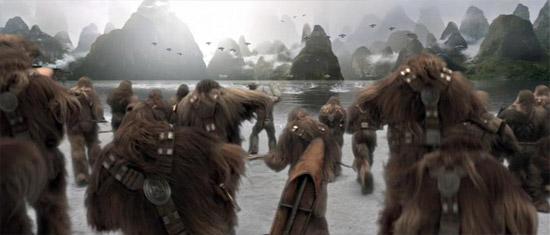 Wookiees Strandverteidigung
