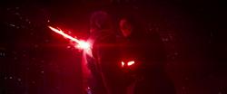 Kylo Ren ersticht Han Solo