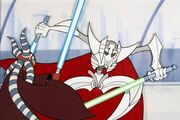 Shaak Ti vs Grievous
