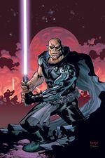 Bane mit Lichtschwert