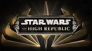 Star Wars The High Republic Announcement Logo