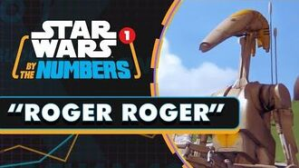 Every 'Roger Roger' in Star Wars Star Wars By the Numbers