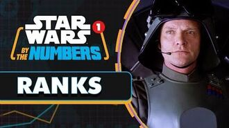 Every Time Rank is Mentioned in the Star Wars Movies Star Wars By the Numbers