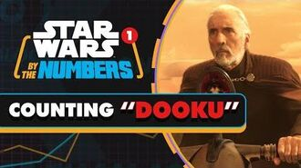 """Let's Count """"Dooku"""" in the Star Wars Movies Star Wars By the Numbers"""