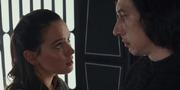 Rey und Kylo im Fahrstuhl