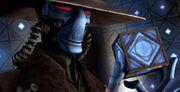 Cad Bane mit Holocron