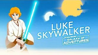 Luke Skywalker - The Journey Begins Star Wars Galaxy of Adventures
