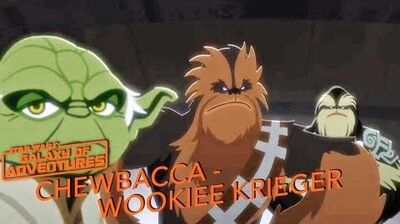 STAR WARS – GALAXY OF ADVENTURES Chewbacca - Wookiee Krieger Star Wars Kids