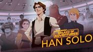 Han Solo - From Smuggler to General Star Wars Galaxy of Adventures