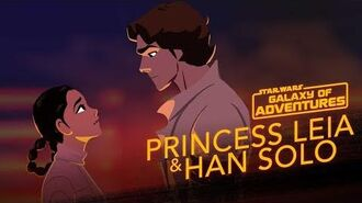 Leia and Han - The Han Rescue Star Wars Galaxy of Adventures