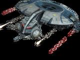 Schwere-Raketenplattform-Droidenkanonenboot