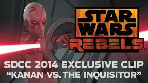 "Star Wars Rebels SDCC 2014 Exclusive Clip - ""Kanan vs. The Inquisitor"""