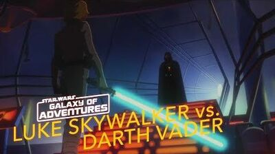 STAR WARS – GALAXY OF ADVENTURES Luke Skywalker vs