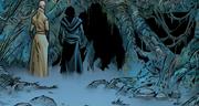 Snoke und Kylo Ren vor der Höhle des Bösen