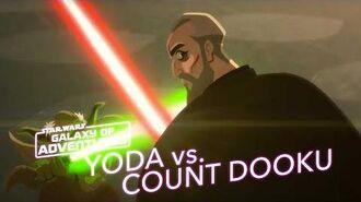 STAR WARS – GALAXY OF ADVENTURES Yoda vs. Count Dooku Star Wars Kids