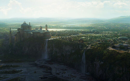 Theed Matte-Painting