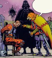 Vader foltert Rebell