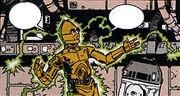 Mixed-Up Droid C-3PO Energieblitze