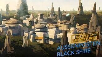 STAR WARS – GALAXY OF ADVENTURES Außenposten Black Spire Star Wars Kids