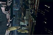 Vertikale Stadt