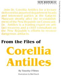 From the Files of Corellia Antilles