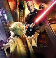 Dooku & Yoda