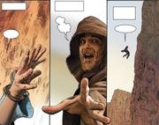 Obi-Wan lässt Owen fallen