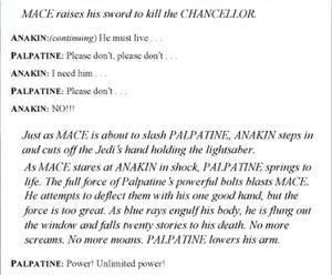 Script Episode III Mace Windu's death