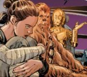 Rey in einer Krise