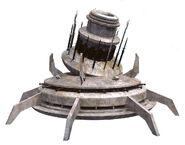 W-165 planetarer Turbolaser