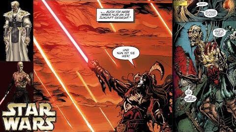 Wer könnte Darth Sion gewesen sein? (Legends)
