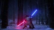 Rey gewinnt die Oberhand über Kylo Ren