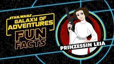 STAR WARS – GALAXY OF ADVENTURES FUN FACTS Prinzessin Leia Star Wars Kids