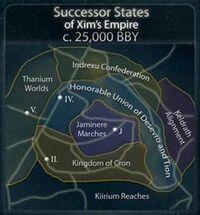 Reststaaten von Xims Imperium