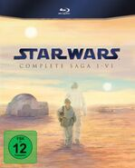 Star Wars 1-6 Blu-ray Cover
