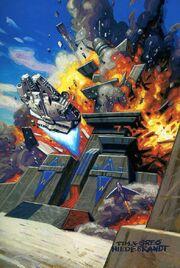 Xizor's Palast explodiert