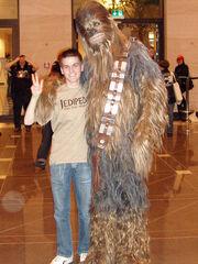 Ani und Chewbacca