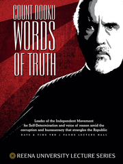 Count Dooku - Words of Truth