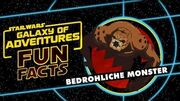 STAR WARS – GALAXY OF ADVENTURES FUN FACTS Bedrohliche Monster Star Wars Kids