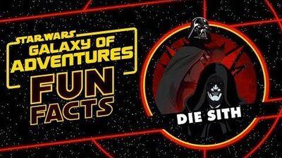 STAR WARS – GALAXY OF ADVENTURES FUN FACTS Die Sith Star Wars Kids