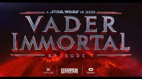 Vader Immortal A Star Wars VR Series- Episode I Official Trailer