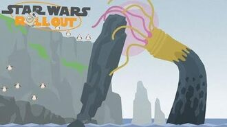 Chewie, die Porgs und das Seemonster - Kapitel 2 Star Wars Roll Out
